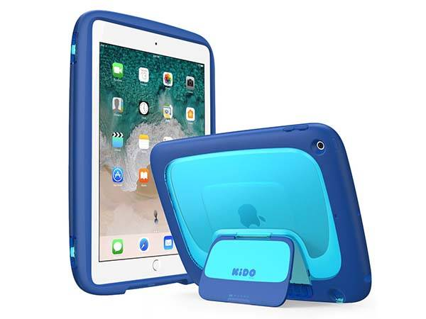 The iPad 9.7-Inch Case for Kids with Stand and Detachable Shoulder Strap