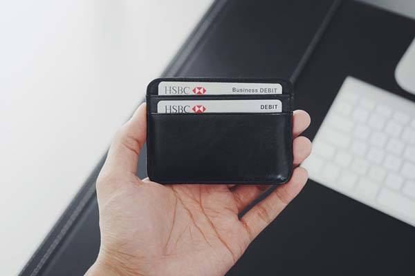 Minimal Genuine Leather Card Holder
