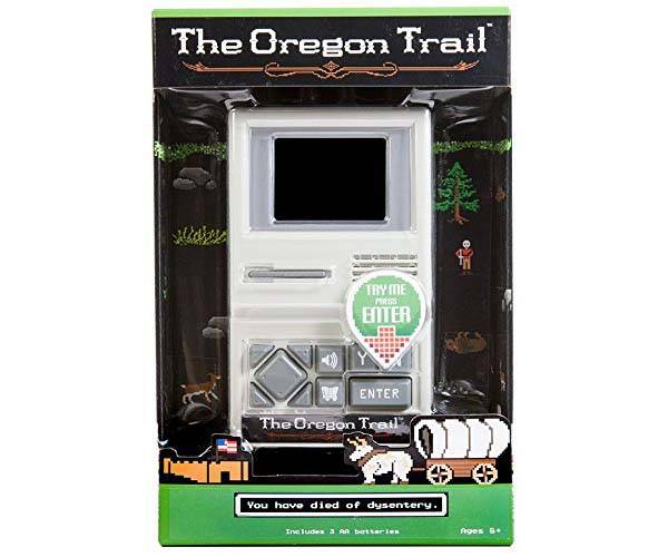 The Oregon Trail Handheld Gaming Device