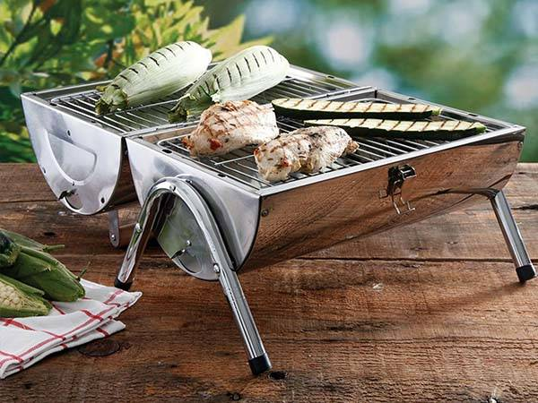 The Portable Stainless Steel BBQ Grill