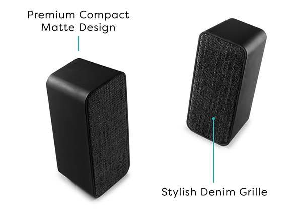Twins Portable Bluetooth Speaker Set