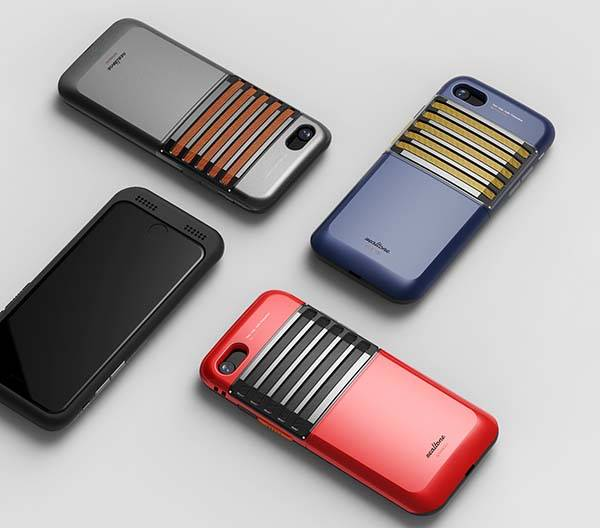 The Concept Smartphone Case with Walkie Talkie