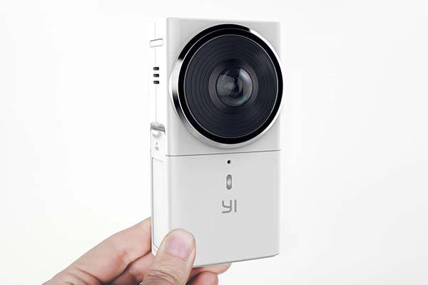 YI 360 VR Camera for 4K Video Recording and 2.5K Live Streaming