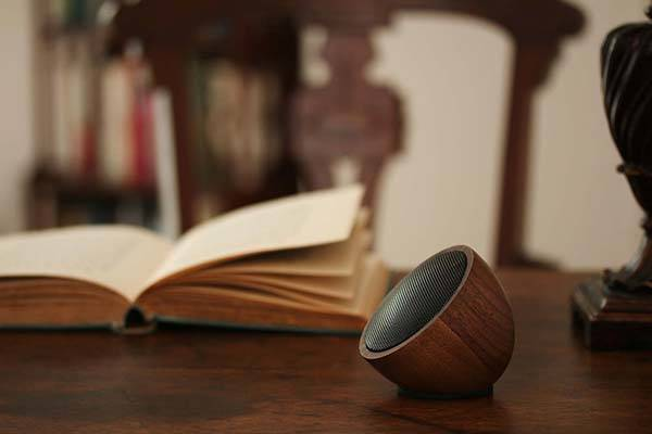 Acoustic Acorn Handmade Wooden Bluetooth Speaker