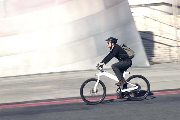 Flash App-Enabled Electric Bike