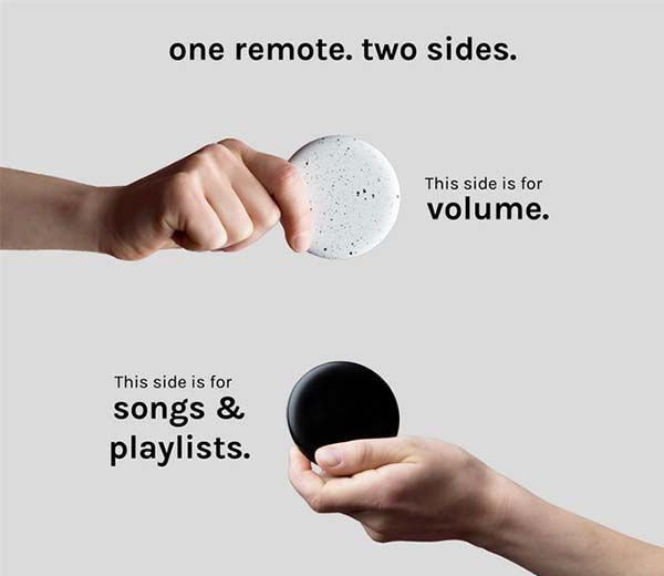 Flipp Remote Control for Wireless Music