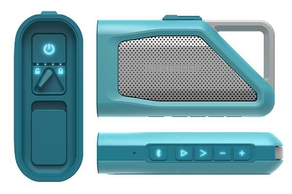 LifeProof Aquaphonics AQ9 Waterproof Bluetooth Speaker