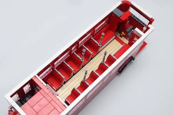 London Bus Route 38 UCS LEGO Set