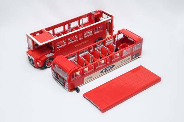 London Bus Route 38 UCS LEGO Set
