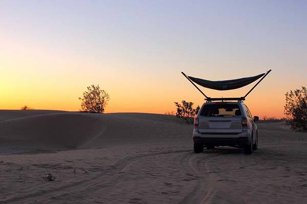 Roof Top Hammock Stand for Vehicles