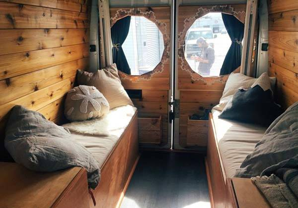 The Camper Van Modified From A Sprinter Van Gadgetsin