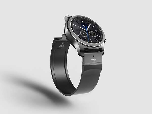 The Charging Strap for Samsung Galaxy Gear S3