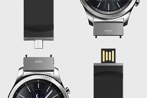 The Charging Strap Designed For Samsung Gear S3 Gadgetsin
