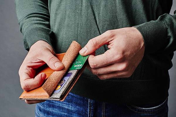 Handmade Super Slim Leather Passport Wallet