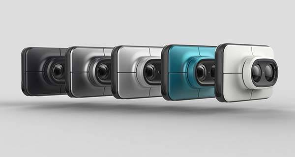 Print Concept Instant Camera with Two Swappable Lenses