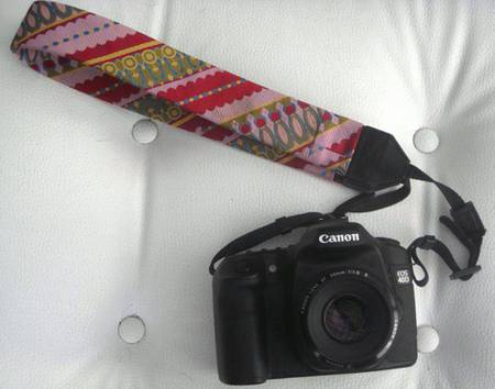 DIY A Fashionable Hand Strap for Camera