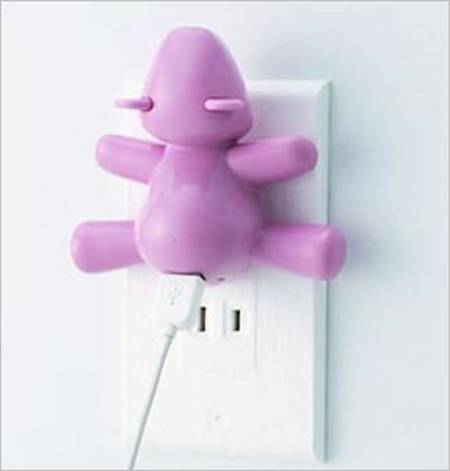 Cute Bear Charger for you USB Device