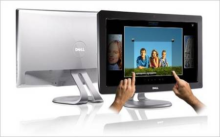 Dell Released Its First Multi-touch LCD, SX2210T