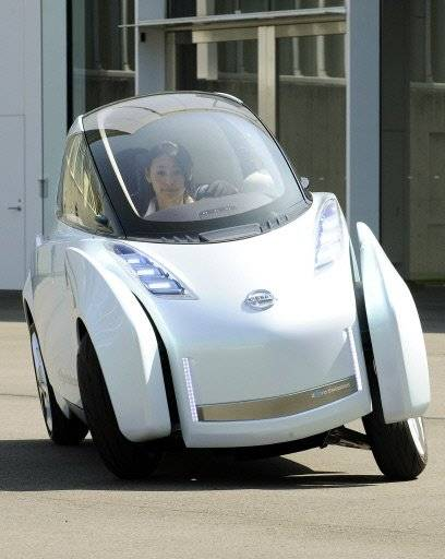 Nissan's Latest Concept Car, Land Glider