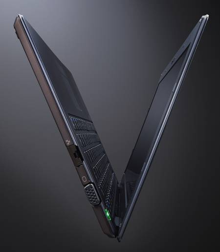 The Newest Sony VAIO X Series Notebook