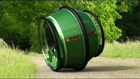 eRinGo, A Futuristic Concept Car
