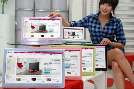 LG Flatron W30 Series: A Monitor For Your Notebook