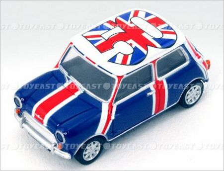 Mini Cooper USB Drive for Celebration of Mini 50th