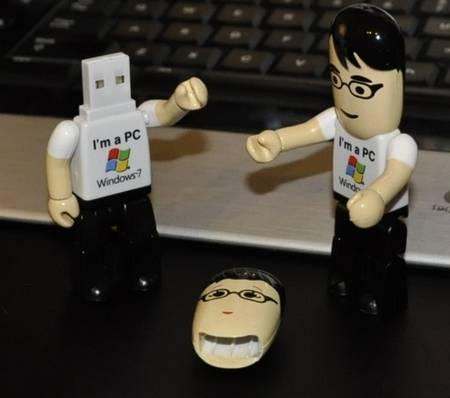 I'm a PC Windows 7 USB Drive and AD