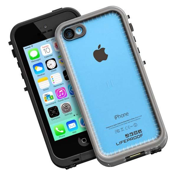lifeproof iphone 5c case lifeproof frē waterproof iphone 5c gadgetsin 3677