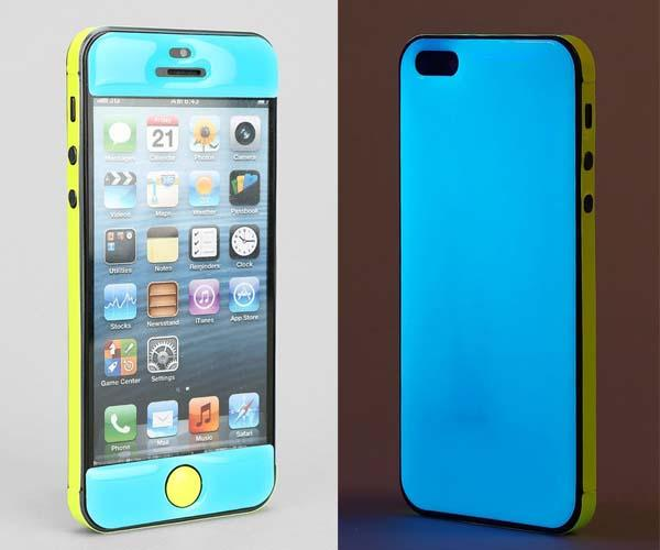iphone 5s glow in the dark case adaptation glow in the iphone 5s gadgetsin 20486