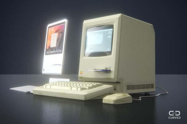 latest gadgets related to computer the futuristic imac concept pays tribute to original 22445