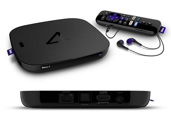 Roku 4 Streaming Box Supports 4K Ultra HD Streaming