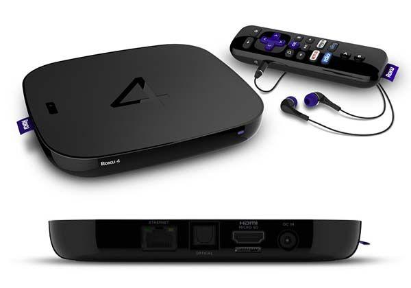 Roku 4 Streaming Box Supports 4K Ultra HD Streaming