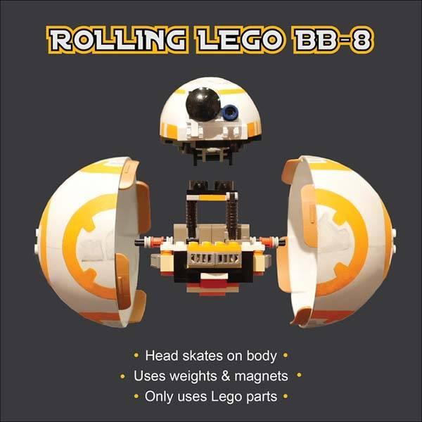 Star Wars Rolling BB-8 LEGO Set   Gadgetsin