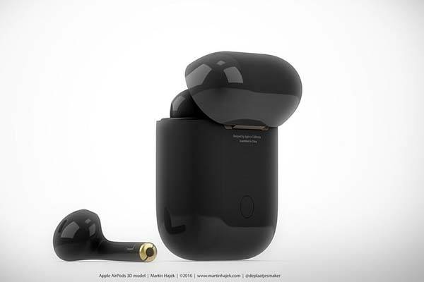 The Black AirPods Perfectly Match with Black Jet iPhone 7 ...
